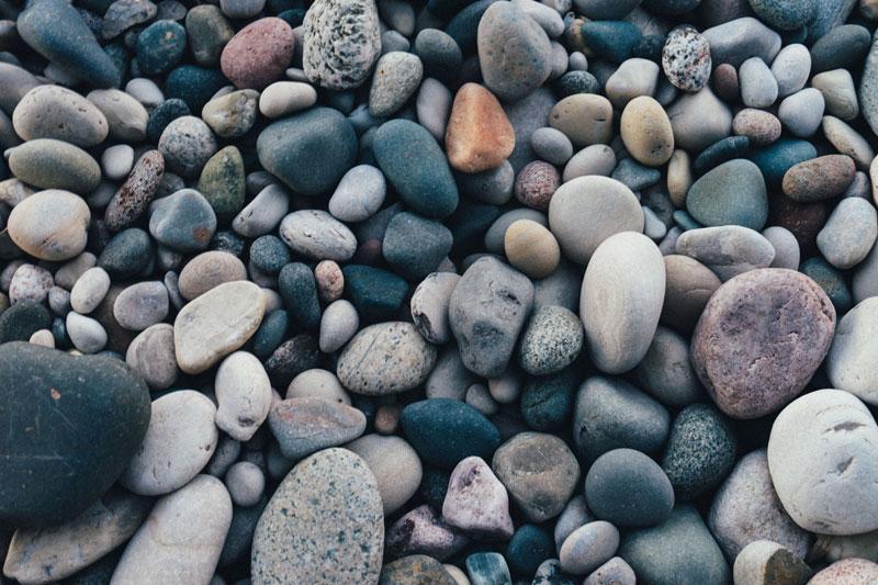 tipos y colores de piedras